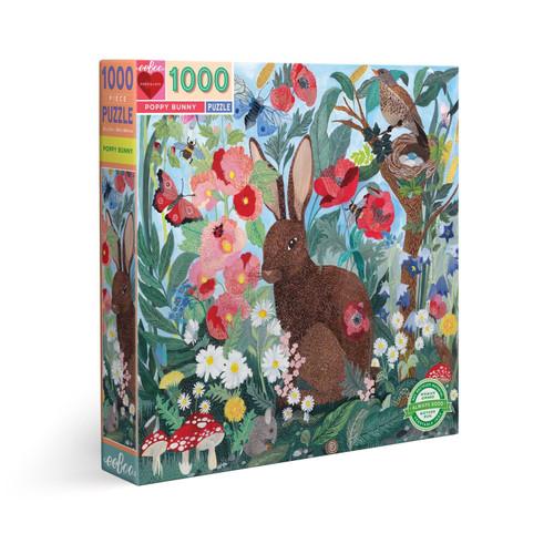 Poppy Bunny 1000 Piece Puzzle
