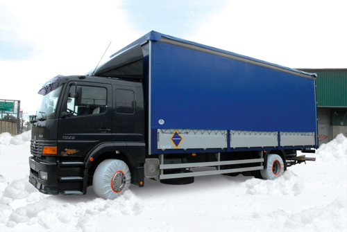 ISSE ECO-106 Truck Snow Sock 375/75-20 12-22.5 315/80-22.5 335/80-22.5 385/65-22.5 305/75-24.5