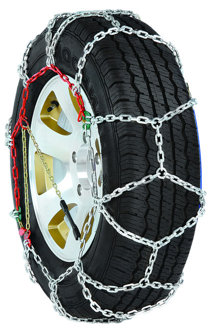 Grizzlar GDP-275 Diamond Alloy Tire Chains 265/70-19.5 265/75-19.5 275/70-19.5 255/85-17 LT285/75-16