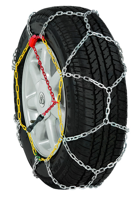 Grizzlar GDP-095 Car Diamond Alloy Tire Chains 215/50-17 245/40-17 225/45-17 215/55-16 225/40-18 205/70-15 245/35-18 235/35-19