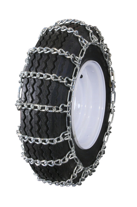 GTU-216 Grizzlar Garden Tractor Snowblower 2 link Ladder Alloy Tire Chains 10.25x3.25 10x3.50 9.5x3