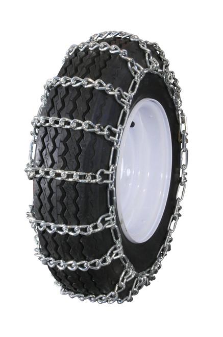 GTU-220 Grizzlar Garden Tractor Snowblower 2 link Ladder Alloy Tire Chains 12x3 4.10/3.50-5