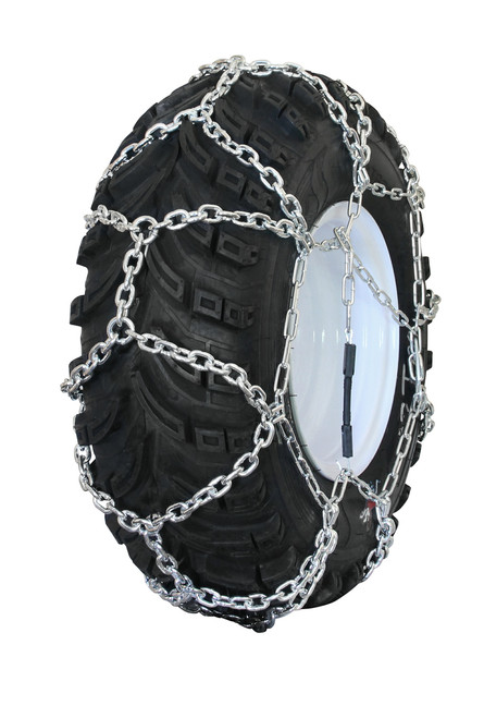 Grizzlar GTN-524 Garden Tractor / Snowblower Net / Diamond Style Alloy Tire Chains 15x5.00-6