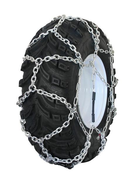 Grizzlar GTN-599 Garden Tractor / Snowblower Net / Diamond Style Alloy Tire Chains 23x9.50-12
