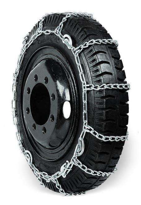 Grizzlar GSL-2249CAM Alloy Truck Ladder Twist Link Tire Chains 10.00-22, 11-24.5