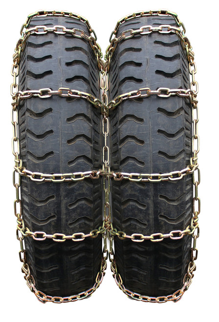 GSL-4145 Truck Dual Square Rod Alloy Tire Chains 10.00-20, 11-22.5, 285/70-24.5, 10.00/90-20, 13/80-20, 275/80-22.5, 305/70-22.5