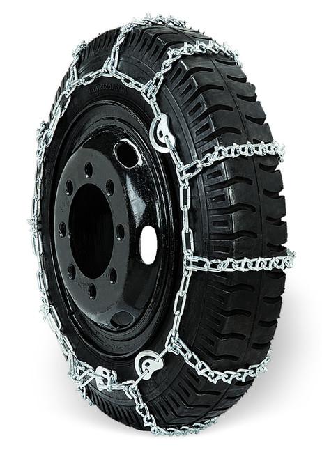 Grizzlar GSL-2849CAM Alloy Truck Ladder V-Bar CAM Twist Link Tire Chains 10.00-22 11-24.5