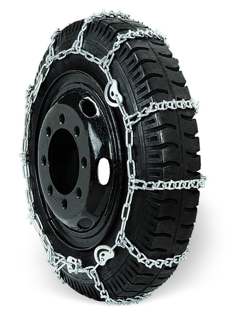 Grizzlar GSL-4845CAM Alloy Truck Ladder V-Bar CAM Dual Triple Twist Link Tire Chains 10.00-20 11-22.5 285/70-24.5 10.00/90-20 13/80-20