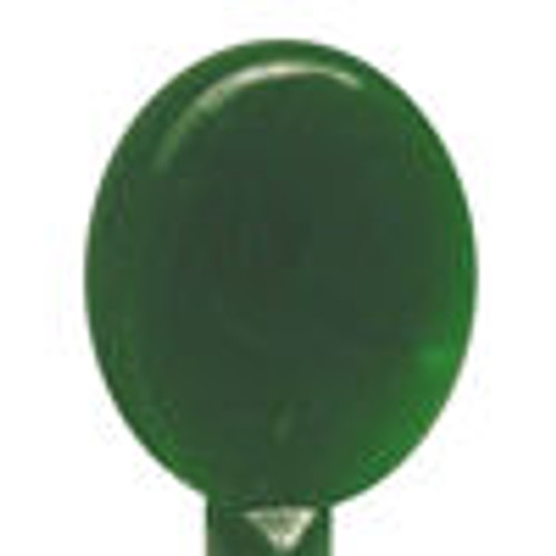 E344 Green Pine Tree Alabaster