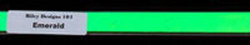 Riley Designs Dichroic Emerald on Clear