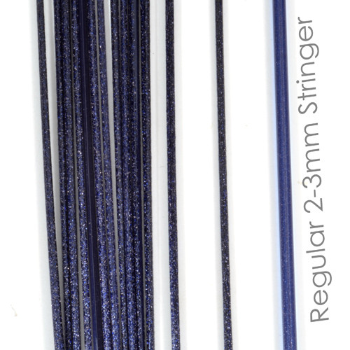 Blue Aventurine Stringers, Pack of 10