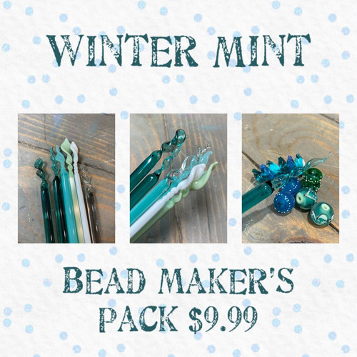 L-Mini Bead Makers Pack (Winter Min t Study)