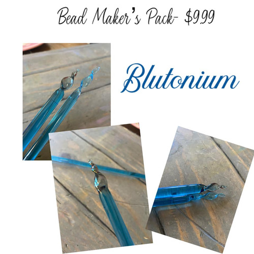 L-Lauscha mini Beadmakers pack Blutonium