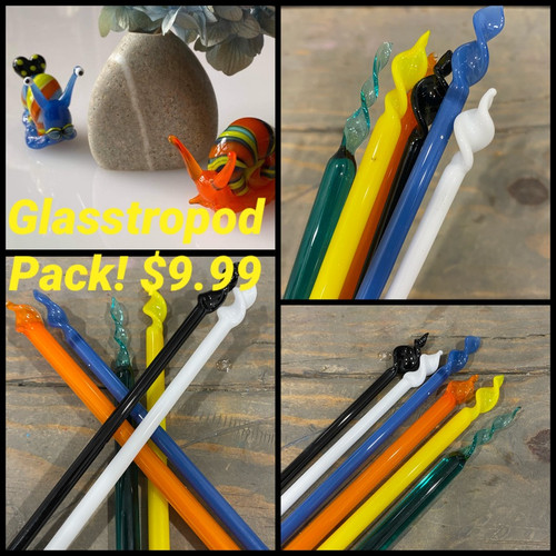 Bead makers mini pack Liliana's Glasstropods pack