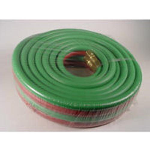 Oxygen and Propane Hose Set, 25 ft. 1/4""