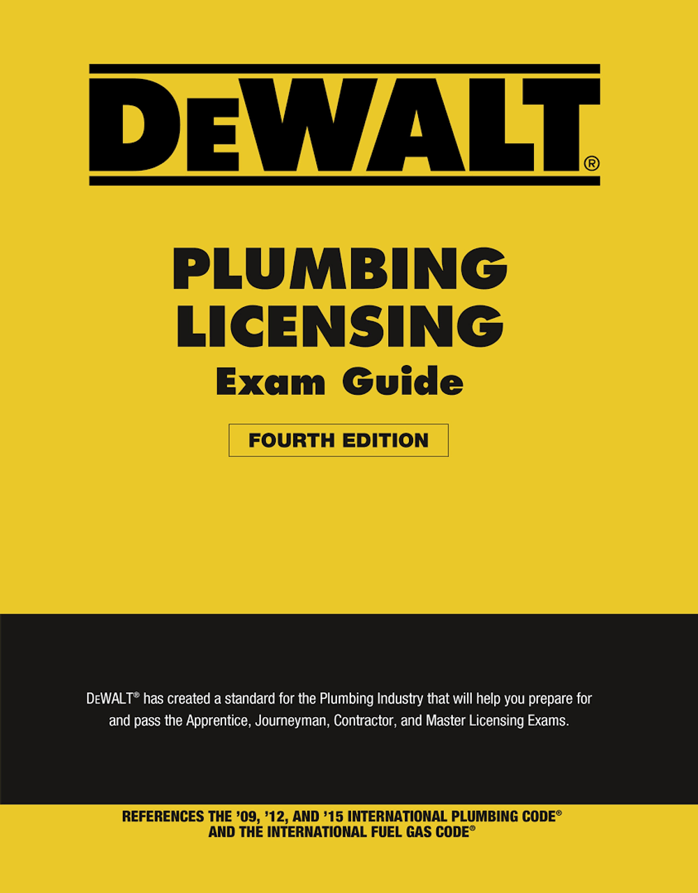 Dewalt Plumbing Licensing Exam Guide 4th Edition Psi Online Store