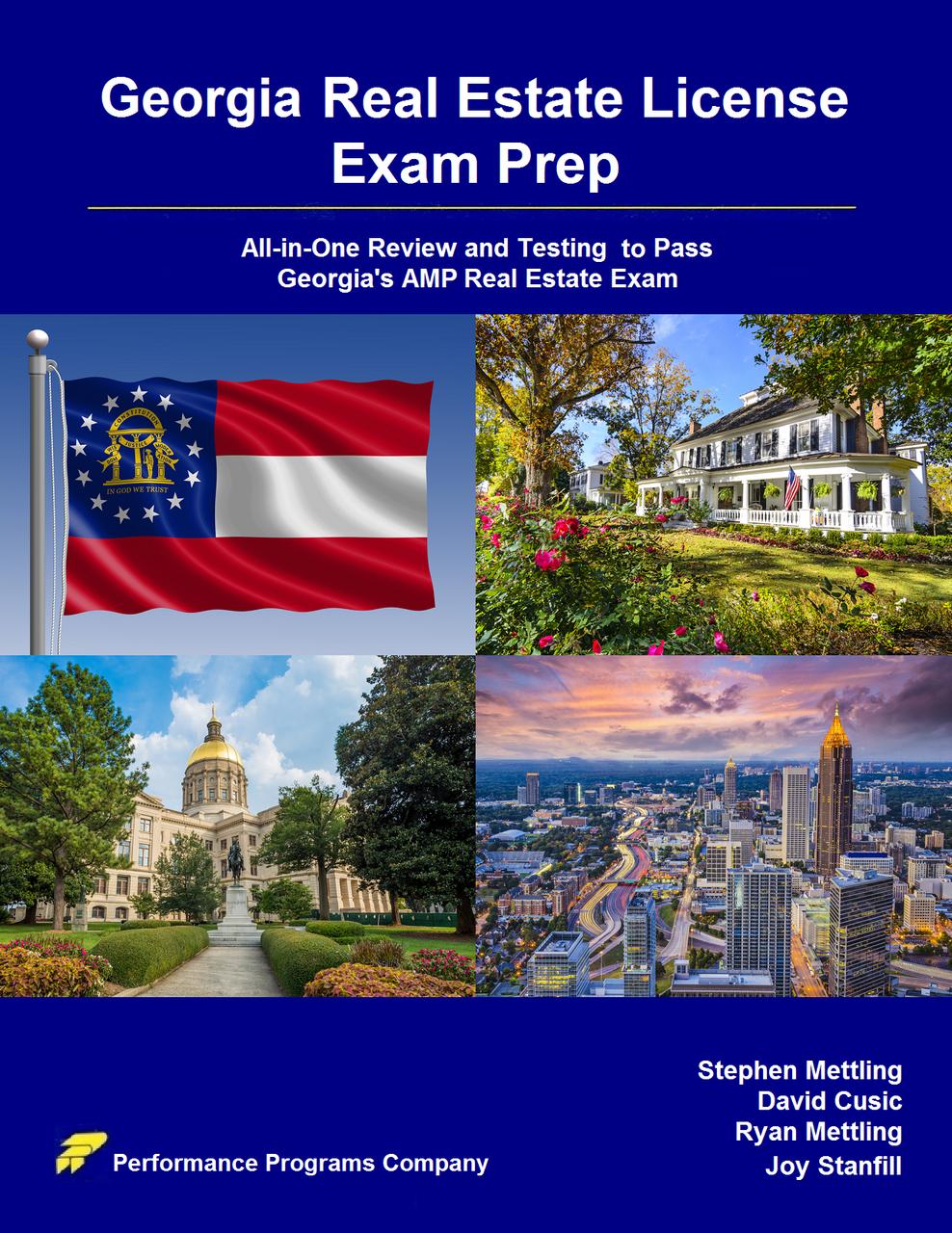 Georgia Real Estate License Exam Prep- PDF