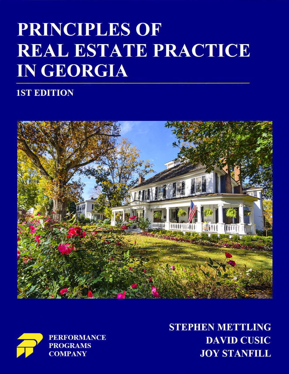 Principles of Real Estate Practice In Georgia - 1st Edition - PDF Version