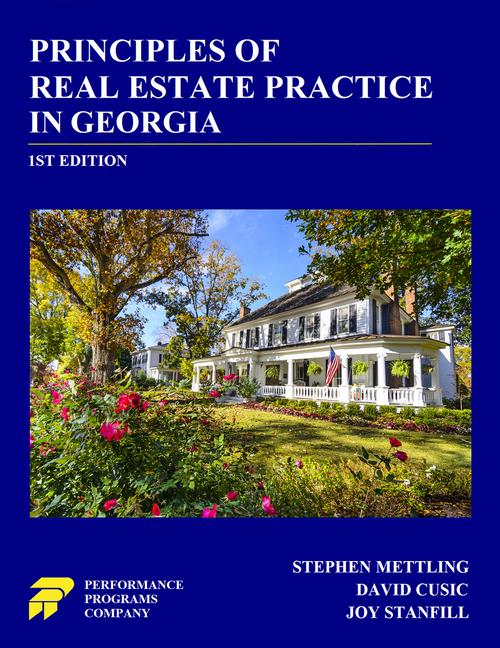 Georgia Real Estate License Exam Prep- PDF - PSI Online Store