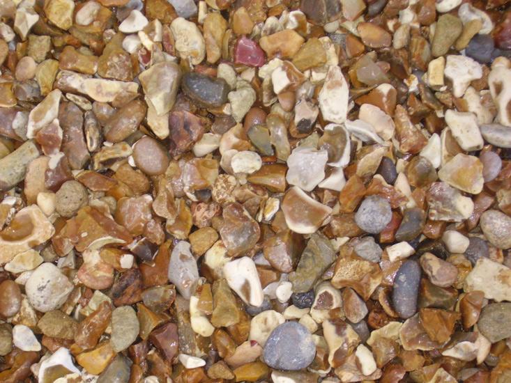 Bulk Bag Gold Gravel