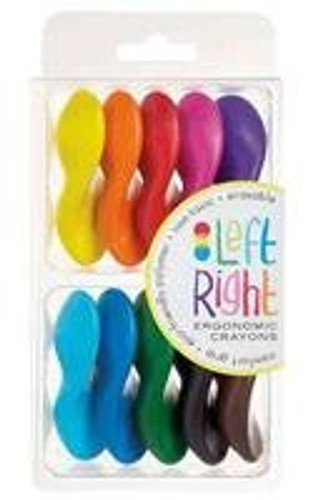 Crayons - Left/Right (Set of 10)