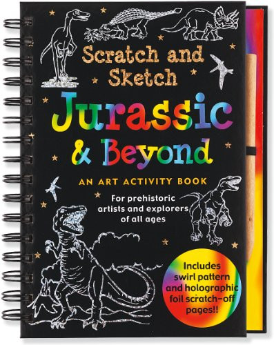 Scratch & Sketch - Jurassic and Beyond