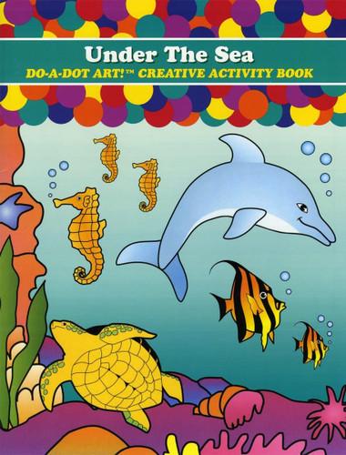 Do-A-Dot Coloring Book - Under the Sea