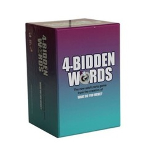 4-Bidden Words (Age 17+)