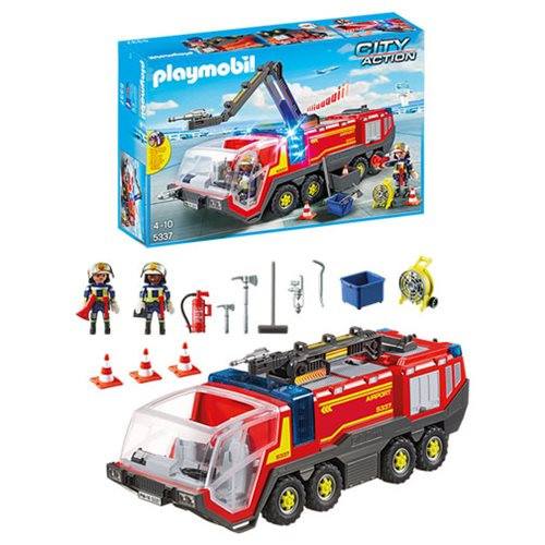 Playmobil - Airport Fire Engine with Lights and Sound