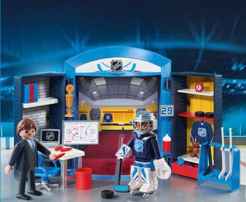 Playmobil - NHL Locker Room Play Box