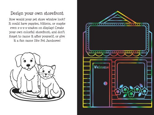 Scratch & Sketch - Pet Shop
