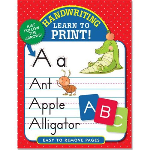 Learning Workbook - Learn To Print