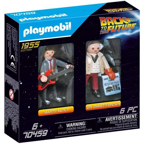Playmobil - Back to the Future Marty and Doc