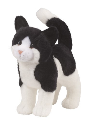 """Scooter Black & White Cat 10"""""""