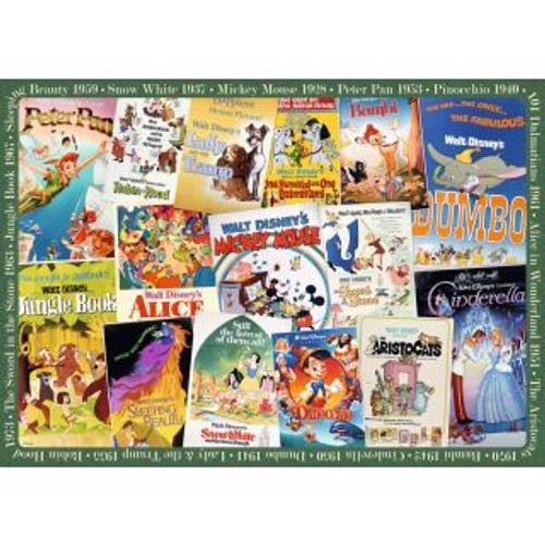 Disney Vintage Movie Posters - 1000 pc