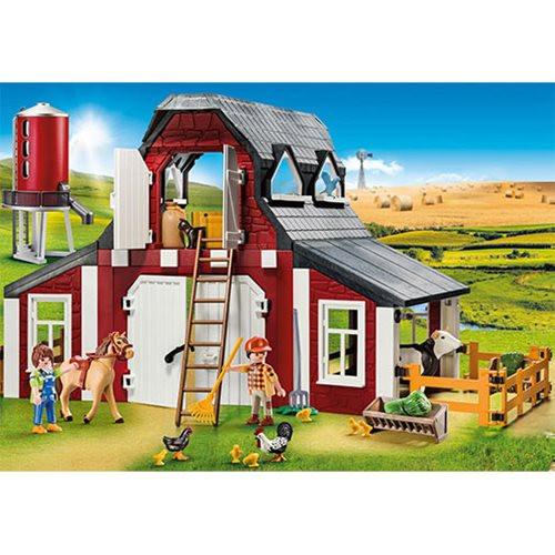 Playmobil - Barn with Silo