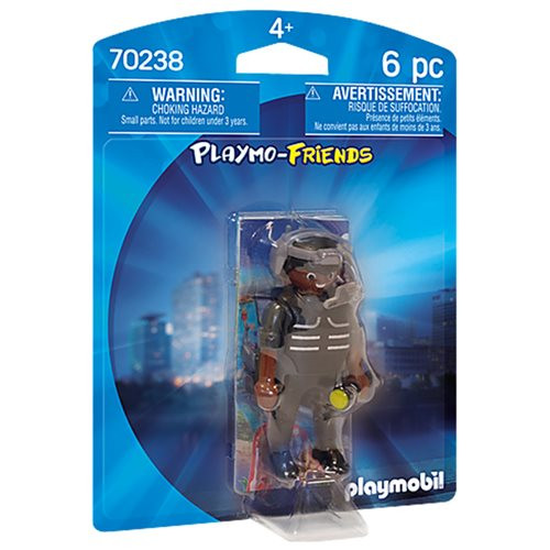 Playmobil Figures - Tactical Unit Officer