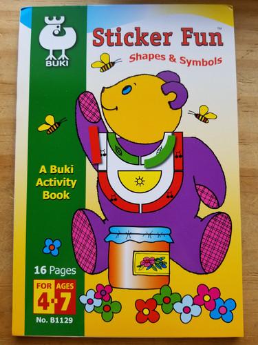 Buki - Sticker Fun Medium Book