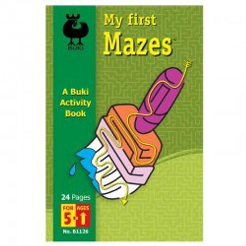 Buki - My First Mazes Book 5+