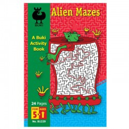 Buki - Alien Mazes Book