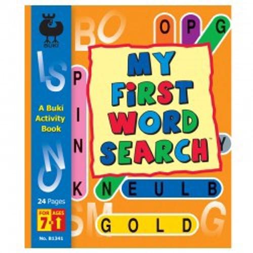 Buki - My First Word Search Fun Book