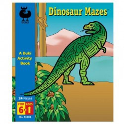Buki - Dinosaur Mazes Book