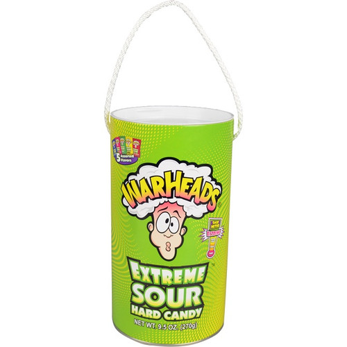 Mega Paint Can Candy - Extreme Sour Warheads