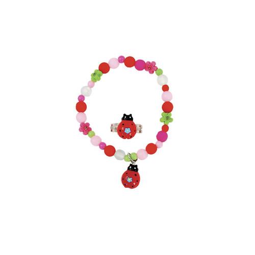 My Fair Ladybug BL & Ring Set
