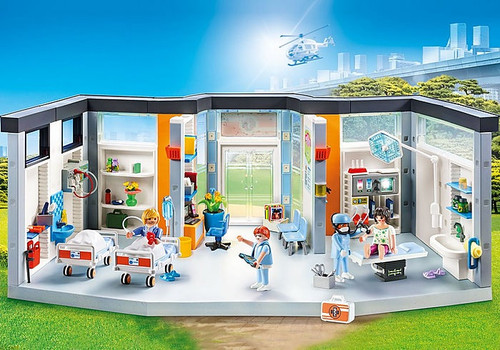 Playmobil - Furnished Hospital Wing