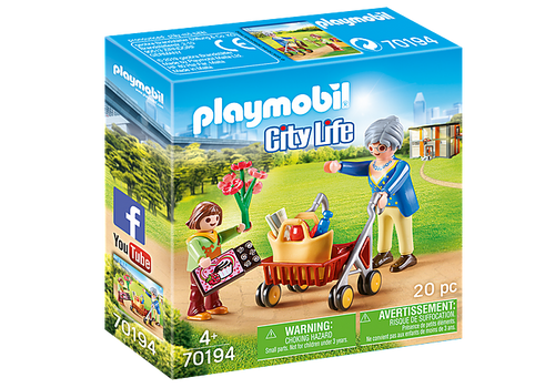 Playmobil - Grandmother with Child