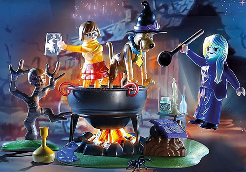 Playmobil - SCOOBY-DOO! Adventure in the Witches Cauldron (Retired)