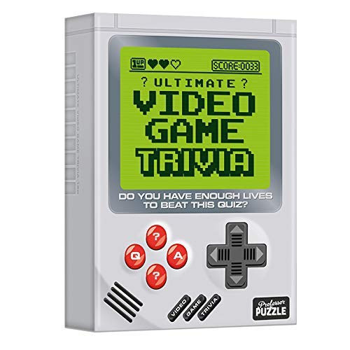 Video Game Trivia (Ages 12+)