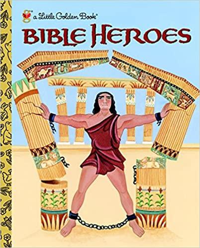 Little Golden Book - Bible Heroes