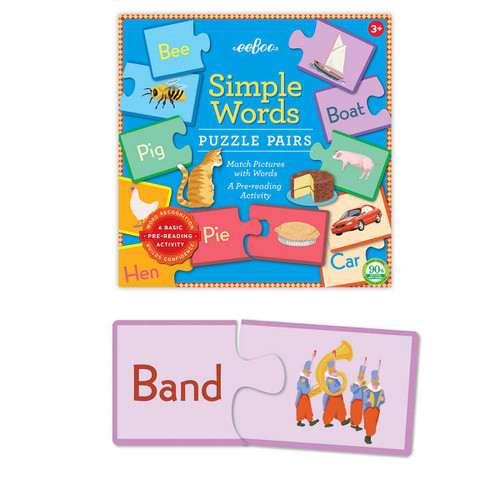Simple Words - Puzzle Pairs